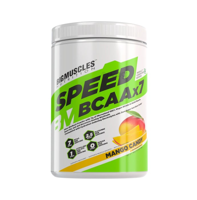 Big  Muscles Nutrition Speed BCAAx7 Mango Candy