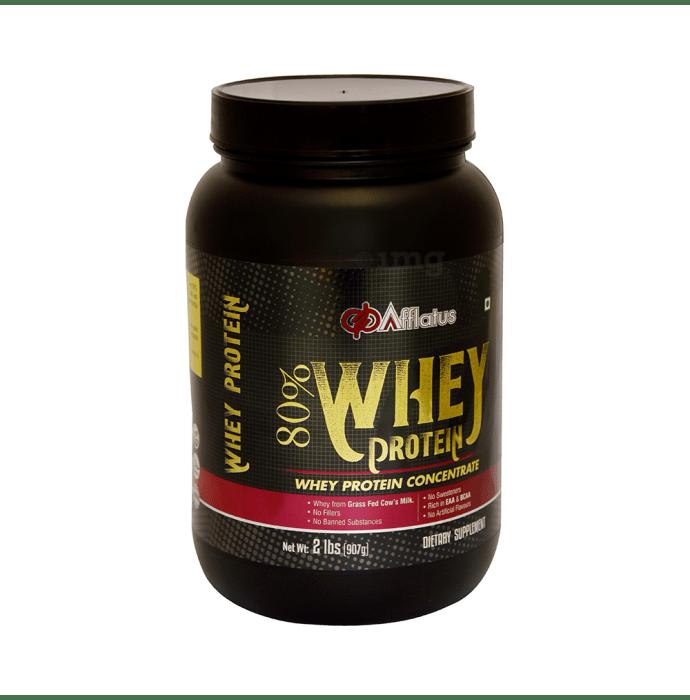 Afflatus 80% Whey Protein