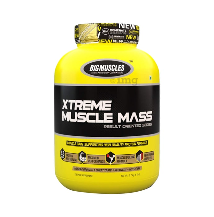 Big  Muscles Xtreme Muscle Mass Cookies & Cream
