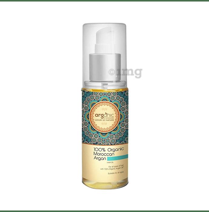 Arganic 100% Organic Moroccan Argan Hair Oil