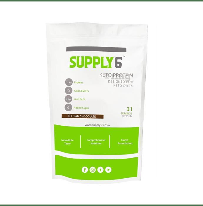 Supply6 Keto Protein Belgian Chocolate