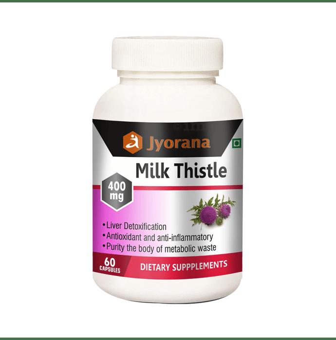 Jyorana Milk Thistle 400mg Capsule