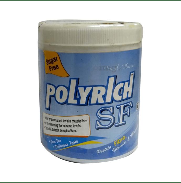Polyrich Protein Powder Sugar Free Vanilla