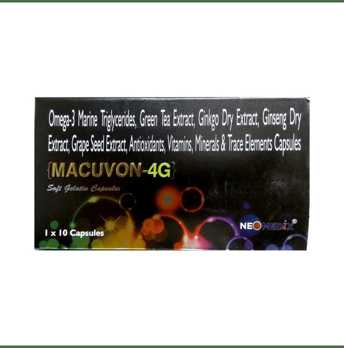 Macuvon-4G Soft Gelatin Capsule