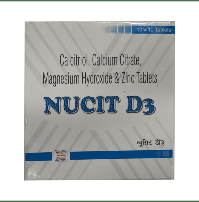 Nucit D3 Tablet