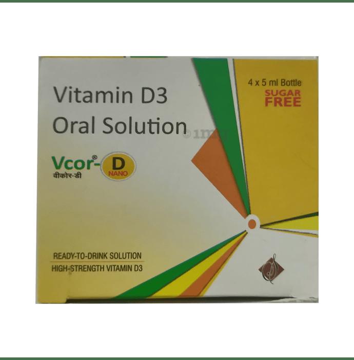 Vcor-D Nano Oral Solution Sugar Free