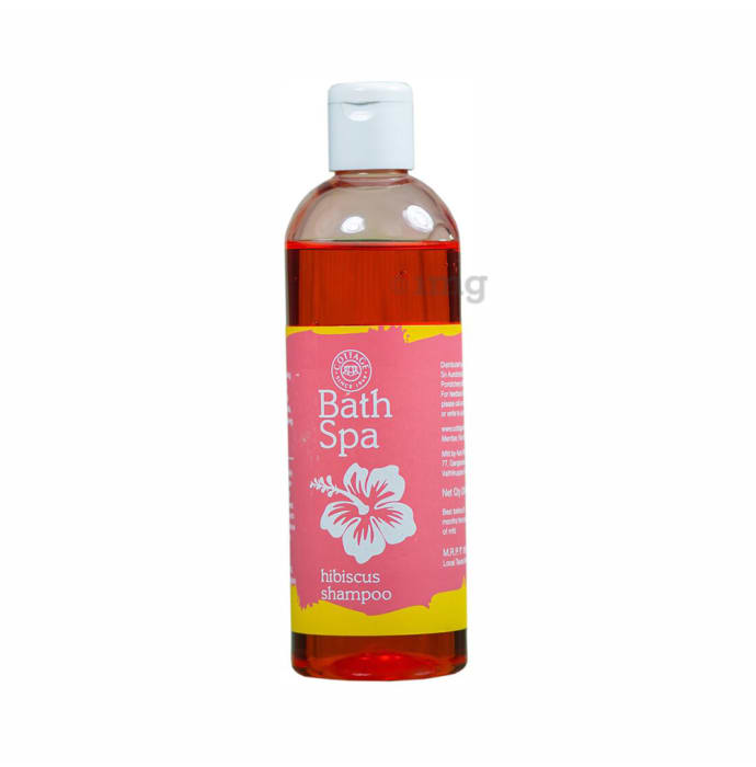 Satvyk Bath Spa Shampoo Hibiscus
