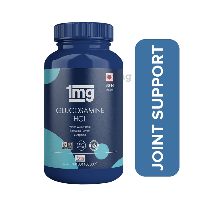 1mg Glucosamine HCL Tablet