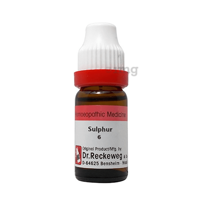 Dr. Reckeweg Sulphur Dilution 6 CH