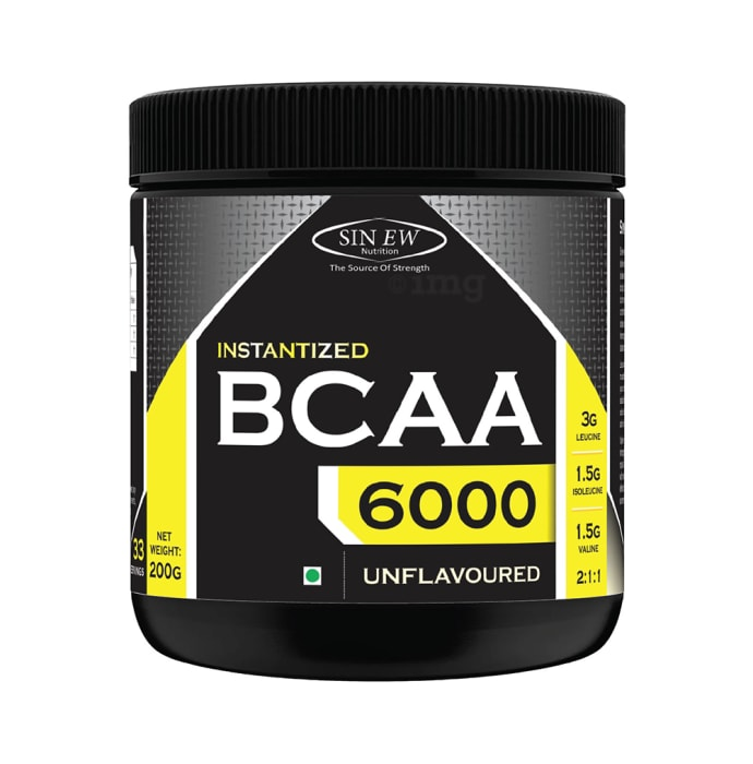 Sinew Nutrition Instantized BCAA 2:1:1 Powder Unflavoured