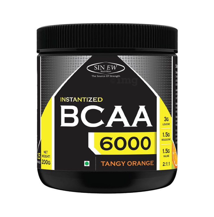 Sinew Nutrition Instantized BCAA 2:1:1 Powder Tangy Orange