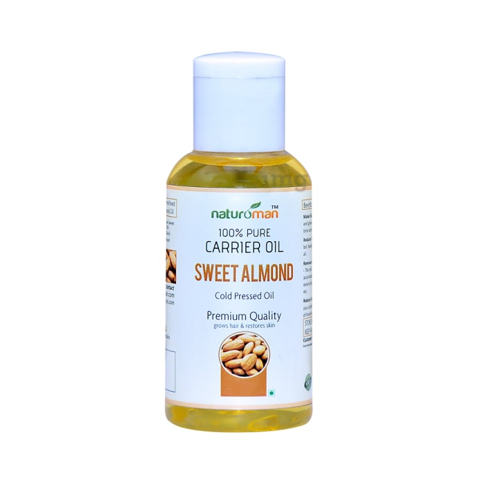 Naturoman 100% Pure Sweet Almond Carrier Oil