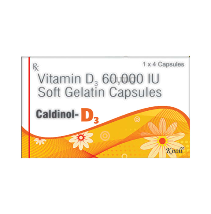 Caldinol-D3 Soft Gelatin Capsule