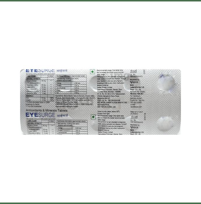 Eyesurge Tablet