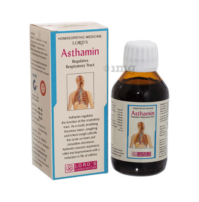 Lords Asthamin Syrup
