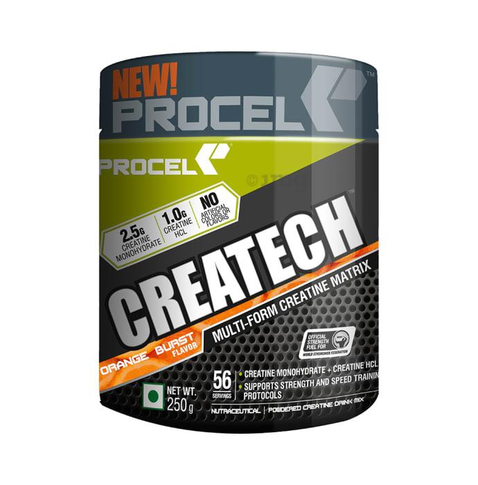 Procel Createch Multi-Form Creatine Matrix Powder Orange Burst