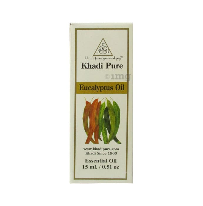 Khadi Pure Herbal Eucalyptus Essential Oil