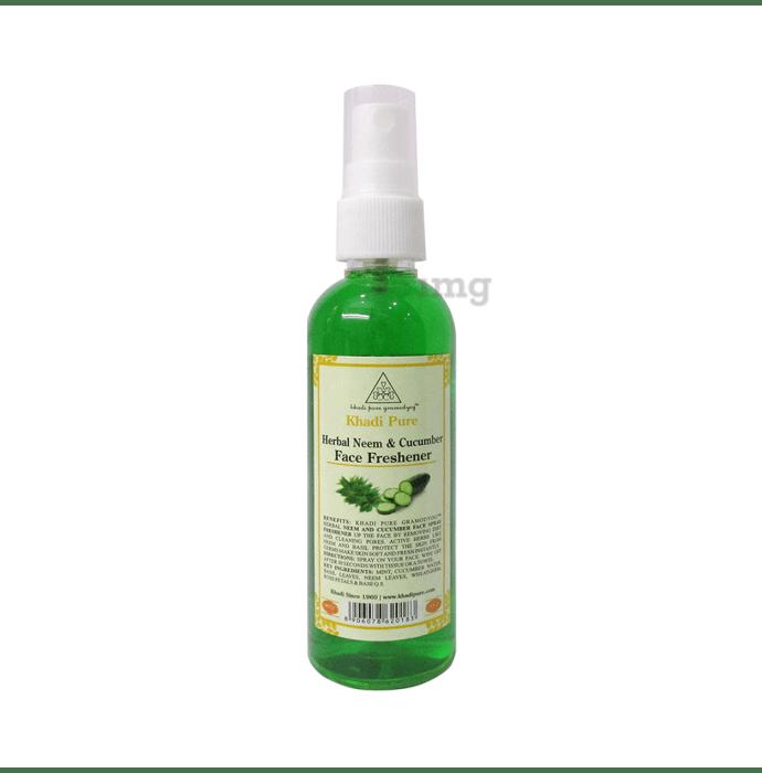 Khadi Pure Herbal Neem & Cucumber Face Freshner