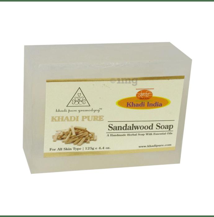 Khadi Pure Herbal Sandal Wood Soap