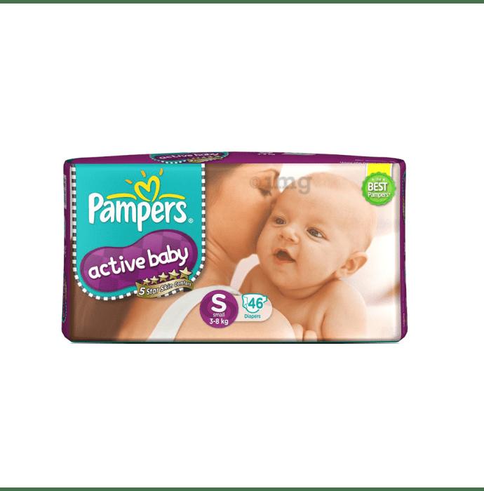 Pampers Active Baby Diaper S