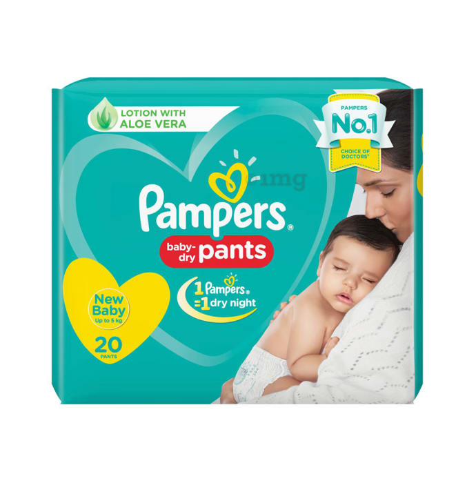 Pampers Baby-Dry Pants NB