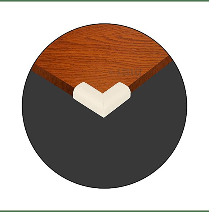 Safe-O-Kid High Density L-Shaped Nbr Corner Cushions S Cream