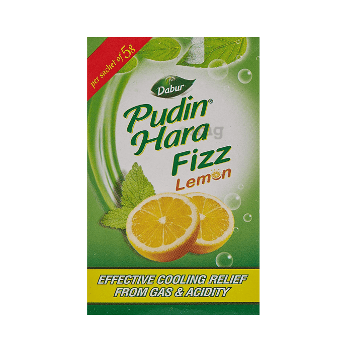 Dabur Pudin Hara Fizz (5gm Each) Lemon