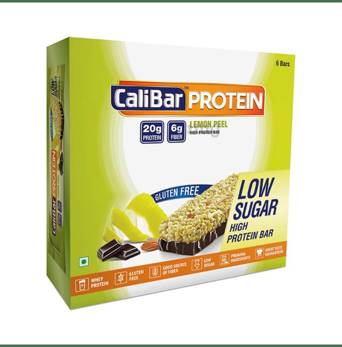 Calibar Protein Bar Lemon Peel