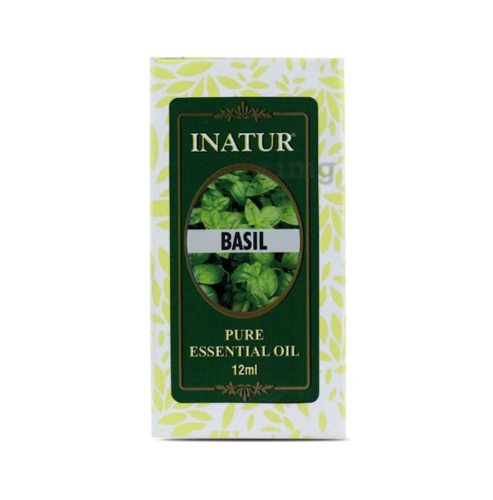 Inatur Basil Pure Essential Oil