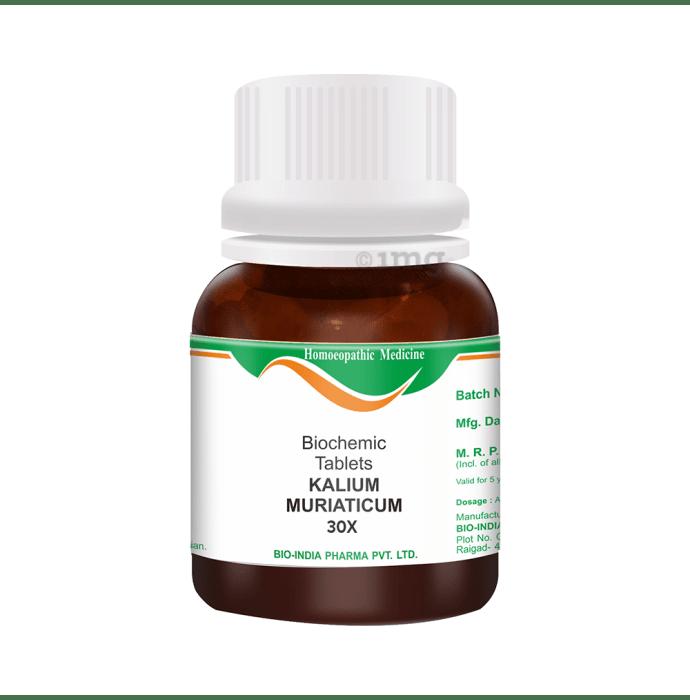 Bio India Kalium Muriaticum Biochemic Tablet 30X