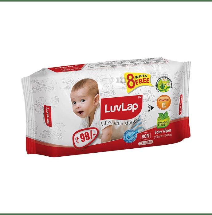 LuvLap Baby Wipes