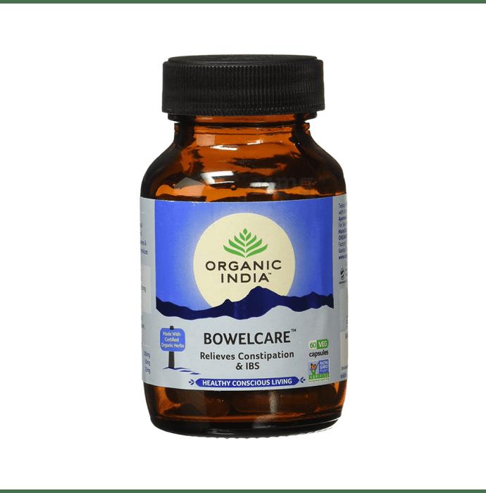 Organic India Bowelcare Veg Capsule