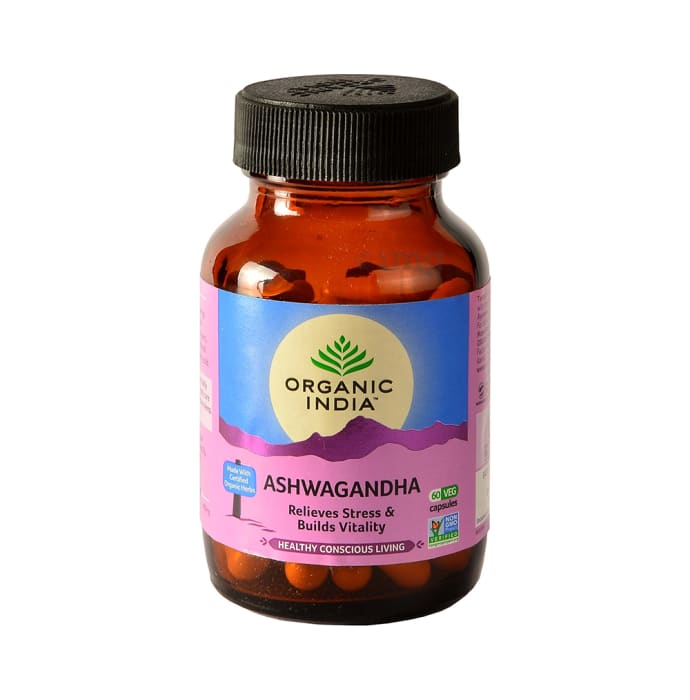Organic India Ashwagandha Veg Capsule
