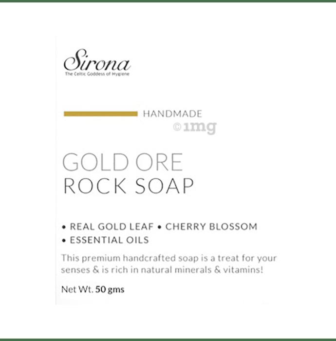 Sirona Handmade Rock Soap Gold Ore