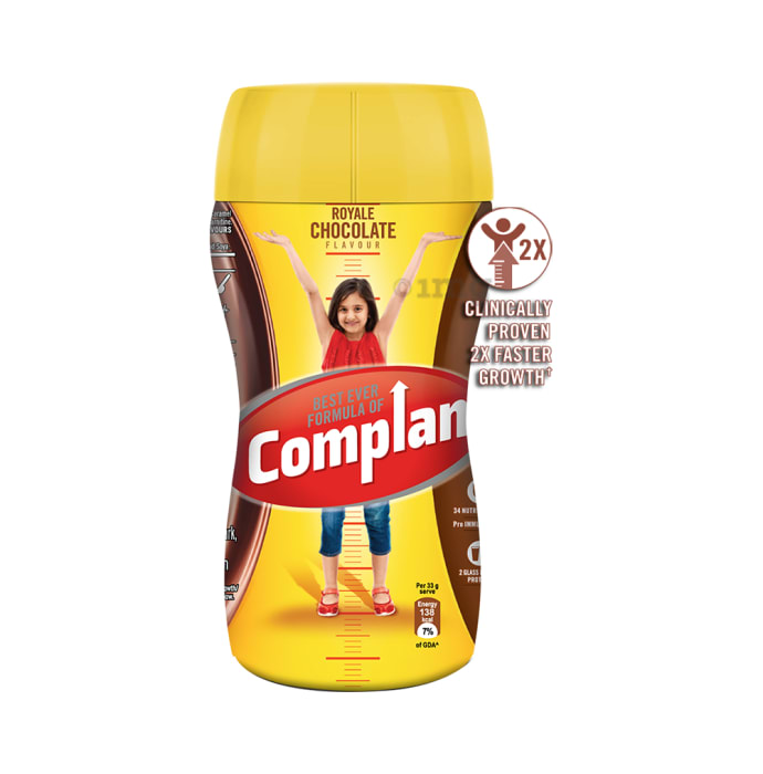 Complan Growth Drink Mix Royale Chocolate
