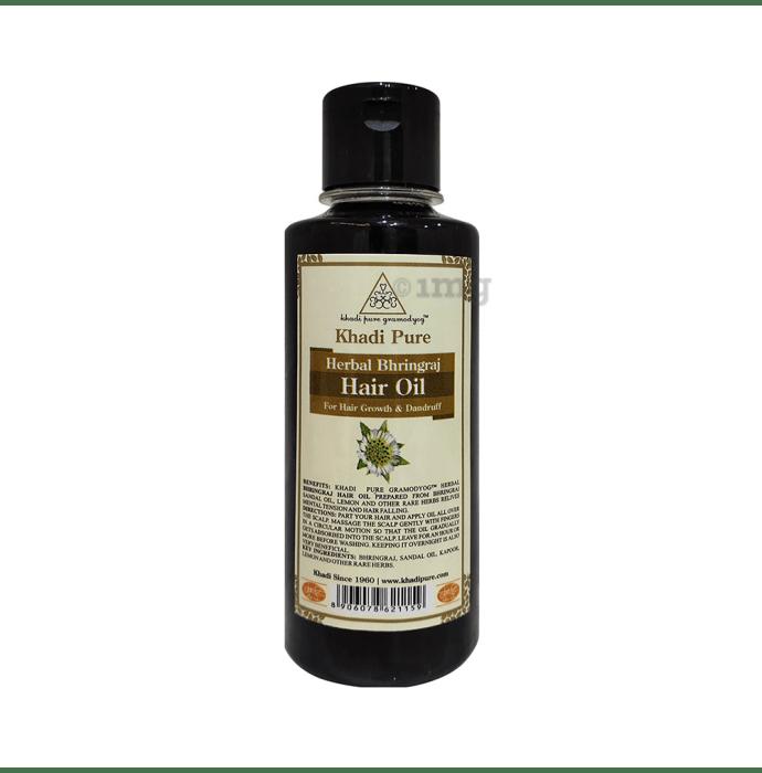 Khadi Pure Herbal Bhringraj Hair Oil Plain