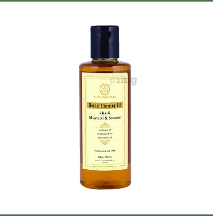Khadi Naturals Herbal Slimming Oil Mustard & Sesame