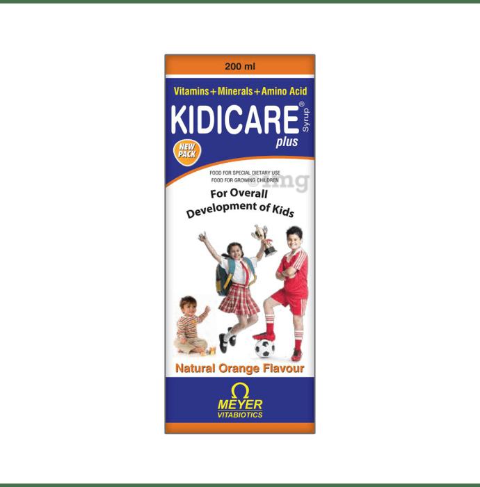 Kidicare Plus Orange Syrup