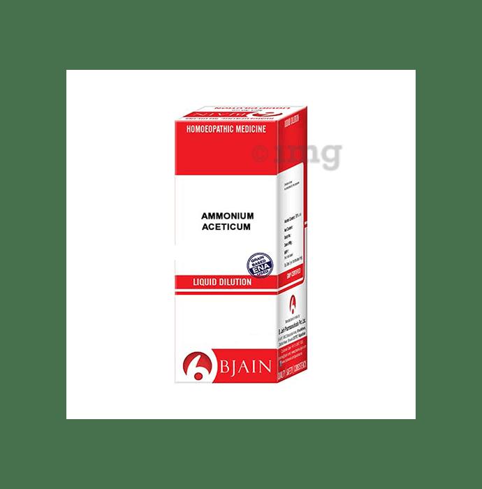 Bjain Ammonium Aceticum Dilution 6 CH