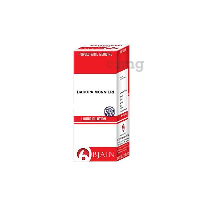 Bjain Bacopa Monnieri Dilution 200 CH