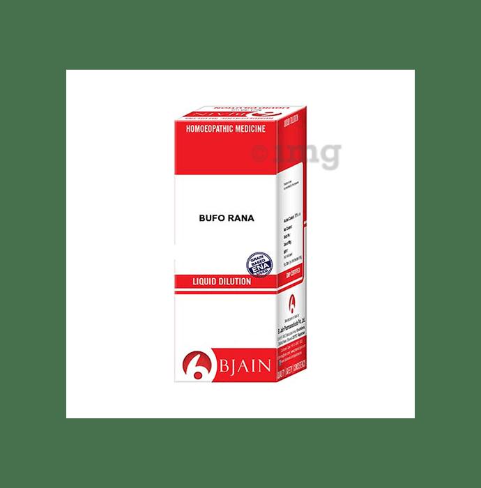 Bjain Bufo Rana Dilution 10M CH