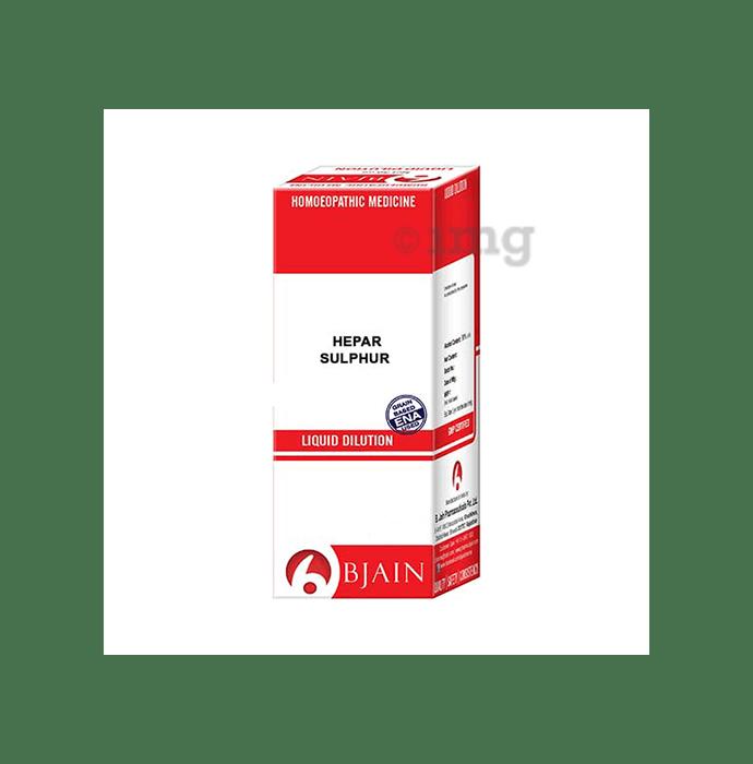 Bjain Hepar Sulphur Dilution 10M CH