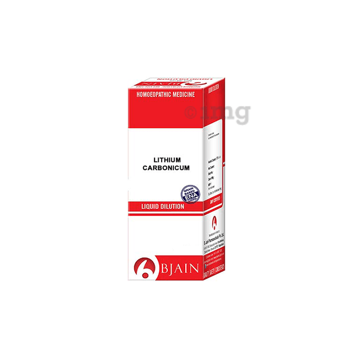 Bjain Lithium Carbonicum Dilution 10M CH