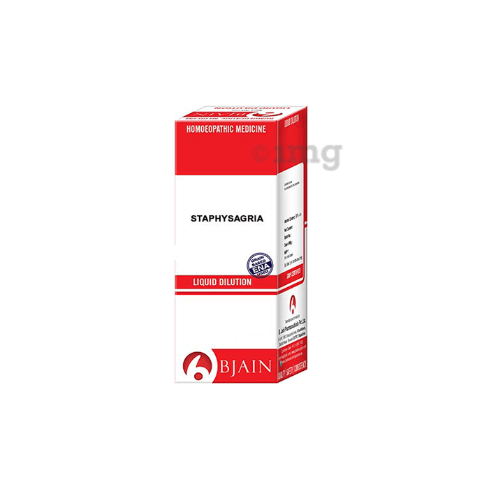 Bjain Staphysagria Dilution 6X