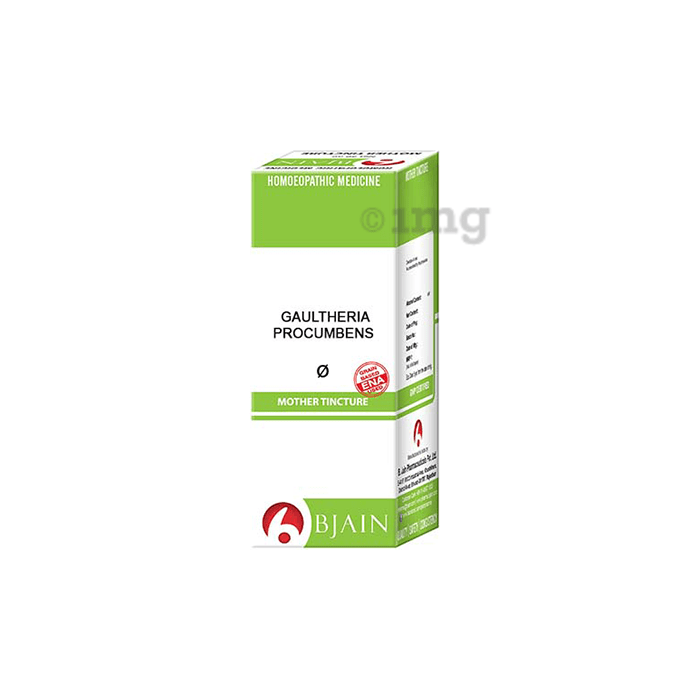 Bjain Gaultheria Procumbens Mother Tincture Q