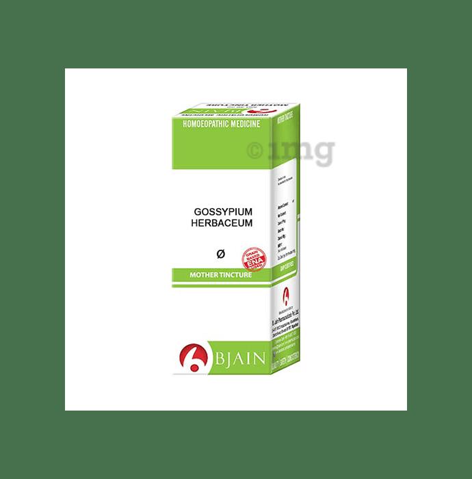 Bjain Gossypium Herbaceum Mother Tincture Q