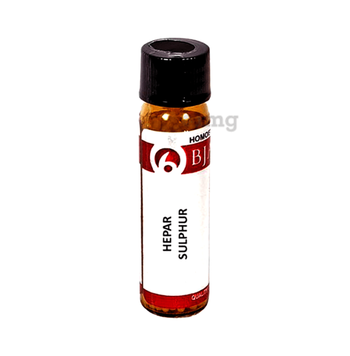 Bjain Hepar Sulphur Globules 30 CH