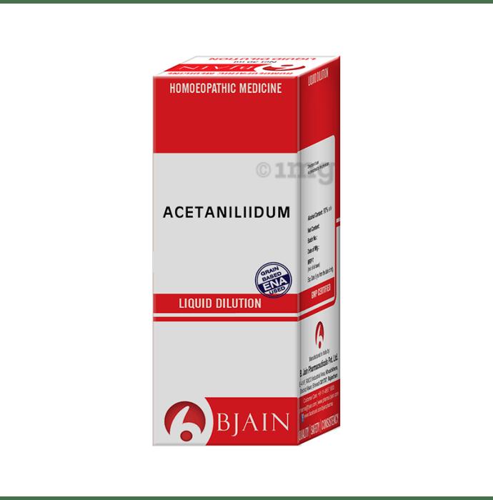 Bjain Acetalinidum/ Antifebrinum Dilution 1000 CH