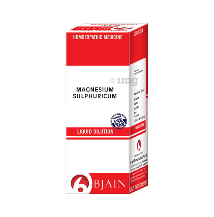 Bjain Magnesium Sulphuricum Dilution 1000 CH