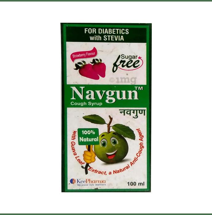 Navgun Syrup Sugar Free Strawberry